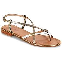 Schuhe Damen Sandalen / Sandaletten Les Tropéziennes par M Belarbi MONACO Gold
