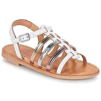 Schuhe Mädchen Sandalen / Sandaletten Les Tropéziennes par M Belarbi MONGUE Weiss
