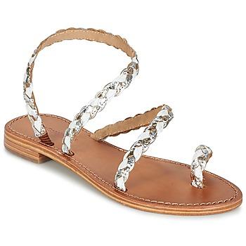 Schuhe Damen Sandalen / Sandaletten Les Tropéziennes par M Belarbi BALI Weiss / Gold