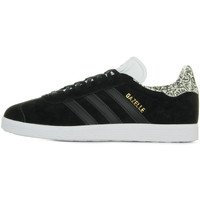 Schuhe Damen Sneaker Low adidas Originals Gazelle W Schwarz