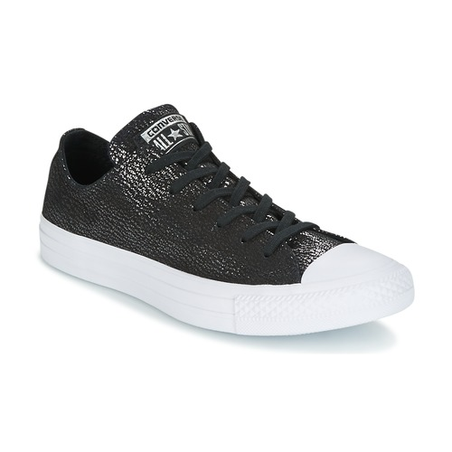 Converse Chuck Taylor All Star Ox Tipped Metallic Schwarz  Schuhe Sneaker Low Damen 67,99