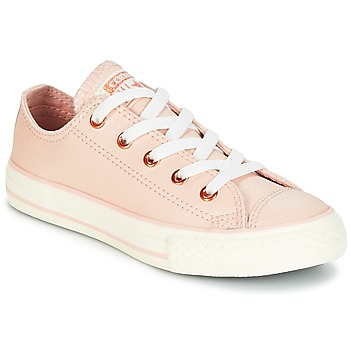 Schuhe Mädchen Sneaker Low Converse Chuck Taylor All Star Ox Fashion Leather Maulwurf