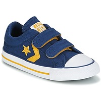 Schuhe Jungen Sneaker Low Converse Star Player EV 2V Ox Sport Canvas Blau