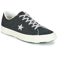 Schuhe Damen Sneaker Low Converse One Star-Ox Schwarz