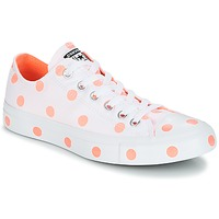 Schuhe Damen Sneaker Low Converse Chuck Taylor All Star-Ox Weiss / Orange