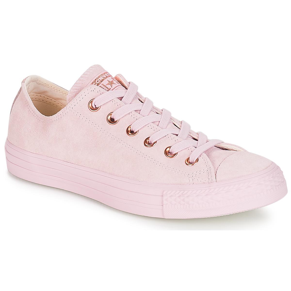 Converse Chuck Taylor All Star-Ox Rose - Kostenloser Versand bei Spartoode ! - Schuhe Sneaker Low Damen 89,99 €