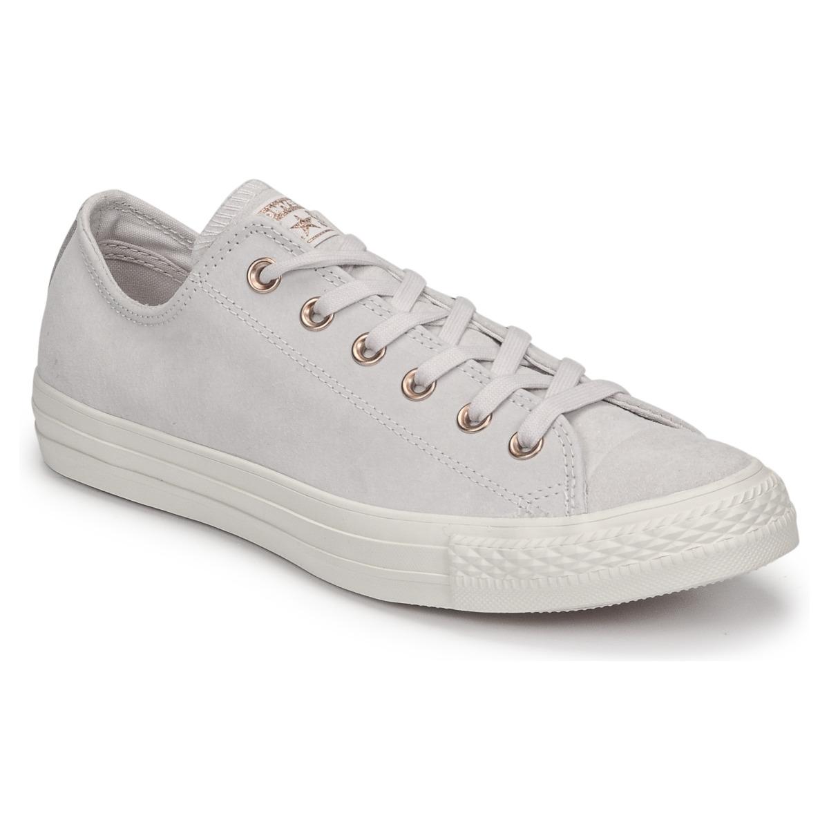 Converse Chuck Taylor All Star-Ox Rose / Weiss - Kostenloser Versand bei Spartoode ! - Schuhe Sneaker Low Damen 89,99 €
