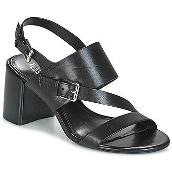 Schuhe Damen Sandalen / Sandaletten Lauren Ralph Lauren FLORIN Schwarz
