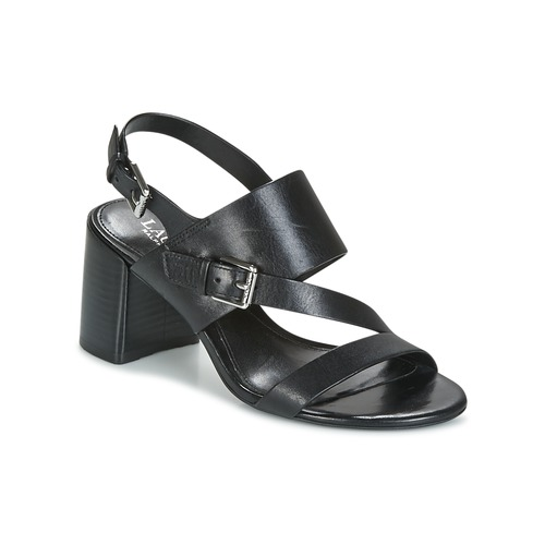 Lauren Ralph Lauren FLORIN Schwarz  Schuhe Sandalen / Sandaletten Damen 103,20