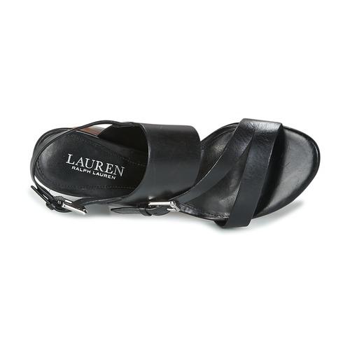Lauren  Ralph Lauren FLORIN Schwarz  Lauren Schuhe Sandalen / Sandaletten Damen 103,20 2faac3