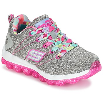 Schuhe Mädchen Sneaker Low Skechers SKECH-AIR Grau / Rose