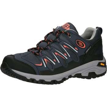 Schuhe Herren Wanderschuhe Brütting Expedition blau