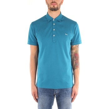 Kleidung Herren T-Shirts Harmont & Blaine L079120455 T-Shirts Mann turquoise turquoise