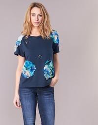 Kleidung Damen T-Shirts Derhy BANGKOK Marine