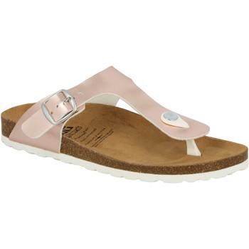 Schuhe Damen Zehensandalen Lico Bioline Shino rosa
