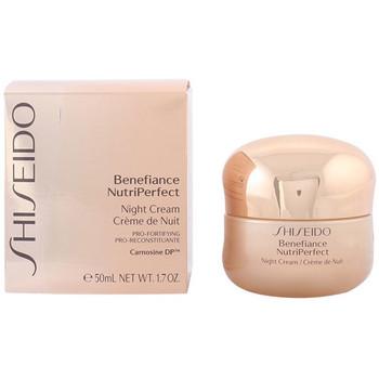 Beauty Damen pflegende Körperlotion Shiseido Benefiance Nutriperfect Night Cream  50 ml