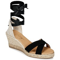 Schuhe Damen Sandalen / Sandaletten Betty London IDILE Schwarz
