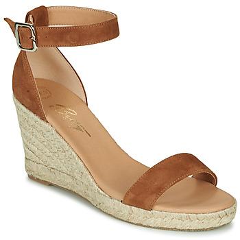 Schuhe Damen Sandalen / Sandaletten Betty London INDALI Braun