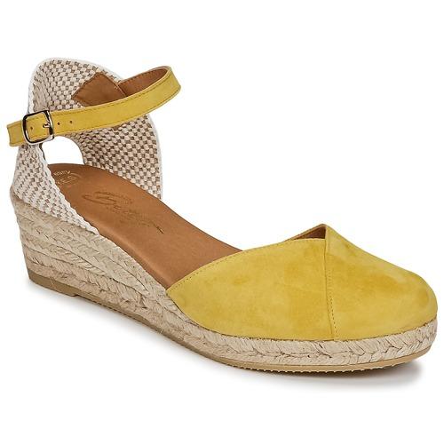 Betty London INONO Gelb  Schuhe Sandalen / Sandaletten Damen 46,39