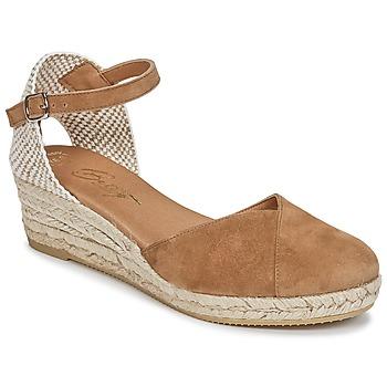 Schuhe Damen Sandalen / Sandaletten Betty London INONO Camel