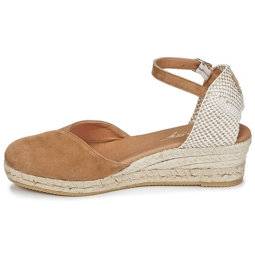 Betty London INONO Camel  Schuhe Sandalen / Sandaletten Damen 46,39