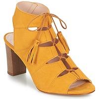 Schuhe Damen Sandalen / Sandaletten Betty London EVENE Gelb