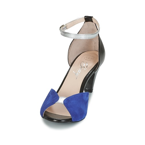 Betty London IKIBI Blau / / Schwarz  Schuhe Sandalen / / Sandaletten Damen 63,99 4bcd0a