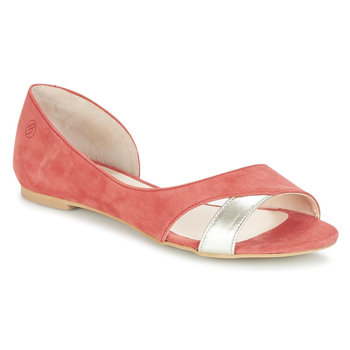 Betty London GRETAZ Rot - Kostenloser Versand bei Spartoode ! - Schuhe Sandalen / Sandaletten Damen 51,99 €
