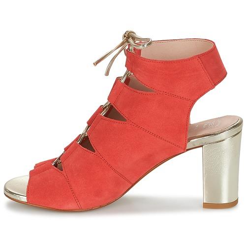Betty London INALU / Rot  Schuhe Sandalen / INALU Sandaletten Damen 63,99 804c40