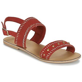 Schuhe Damen Sandalen / Sandaletten Betty London IKARI Rot
