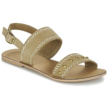 Schuhe Damen Sandalen / Sandaletten Betty London IKARI Beige