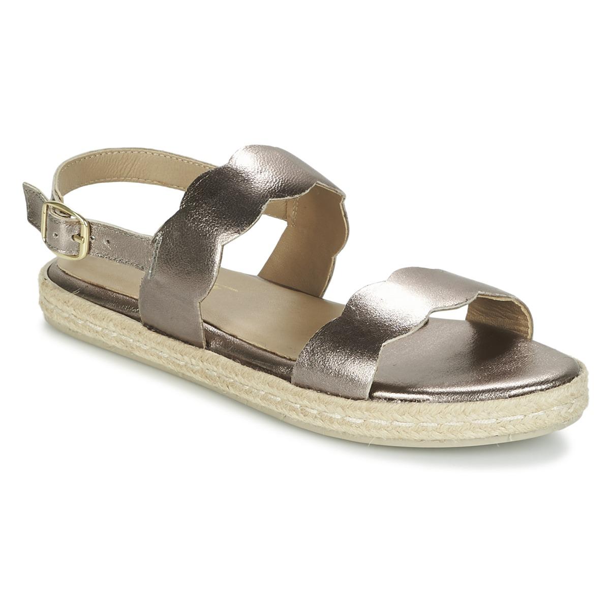 Betty London IKARO Silbern - Kostenloser Versand bei Spartoode ! - Schuhe Sandalen / Sandaletten Damen 32,99 €