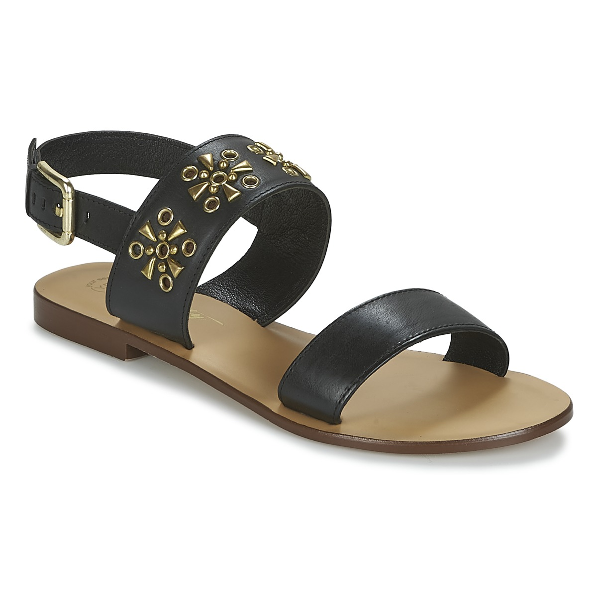 Betty London IKIMI Schwarz - Kostenloser Versand bei Spartoode ! - Schuhe Sandalen / Sandaletten Damen 28,79 €