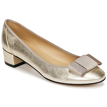 Schuhe Damen Ballerinas Betty London HENIA Gold