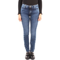 Kleidung Damen Slim Fit Jeans Iblues ABJECT Hosen Frau Blue Blue