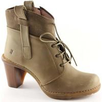 Low Boots El Naturalista EL NATURA N568 CARES Land Schuhe Stiefel Frau zip Knöchel Fersen