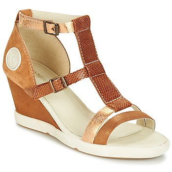 Schuhe Damen Sandalen / Sandaletten Pataugas WAMI-F2B Camel