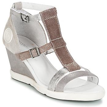 Schuhe Damen Sandalen / Sandaletten Pataugas WAMI-F2B Grau