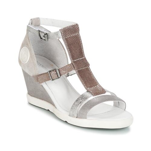 Pataugas WAMI-F2B Grau  Schuhe Sandalen / Sandaletten Damen 119,20