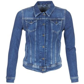 Kleidung Damen Jeansjacken Pepe jeans THRIFT Blau