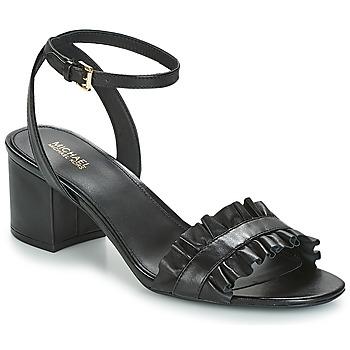 Schuhe Damen Sandalen / Sandaletten MICHAEL Michael Kors BELLA FLEX MID Schwarz