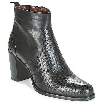 Schuhe Damen Low Boots Muratti RUSTIK PRSM Schwarz