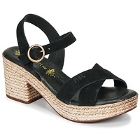 Schuhe Damen Sandalen / Sandaletten Musse & Cloud LARISE Schwarz