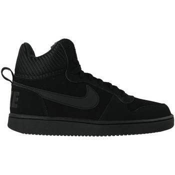 Schuhe Herren Sneaker High Nike Court Borough Mid SE Schwarz