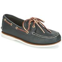 Schuhe Herren Bootsschuhe Timberland CLASSIC 2 EYE Marine