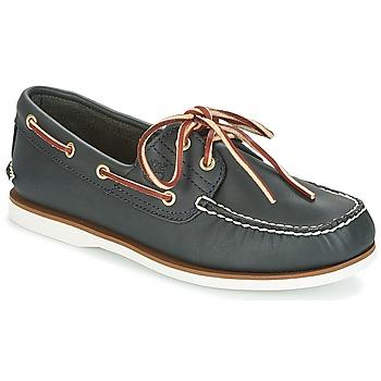 Schuhe Herren Bootsschuhe Timberland CLASSIC 2 EYE Navy