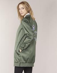 Kleidung Damen Jacken Tommy Hilfiger MABEL-LONG-BOMBER Kaki
