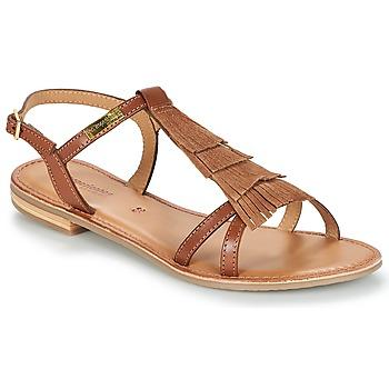 Schuhe Damen Sandalen / Sandaletten Les Tropéziennes par M Belarbi BELIE Braun
