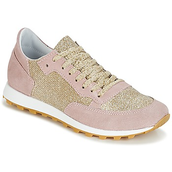 Schuhe Damen Sneaker Low Yurban CROUTA Rose / Goldfarben