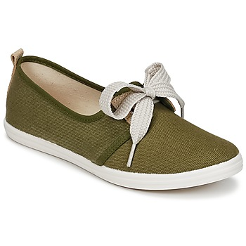 Schuhe Damen Sneaker Low Yurban SOURITE Kaki / Gold